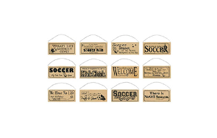 Soccer Season Signs - $13 with Free Shipping
